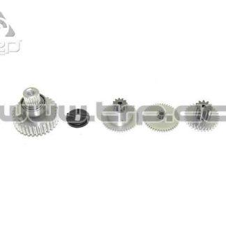 KO Propo Set de Piñones Aluminio para Servo RSx Response
