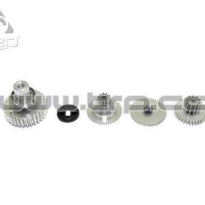 KO Propo Set de Piñones Aluminio para Servo RSx Power