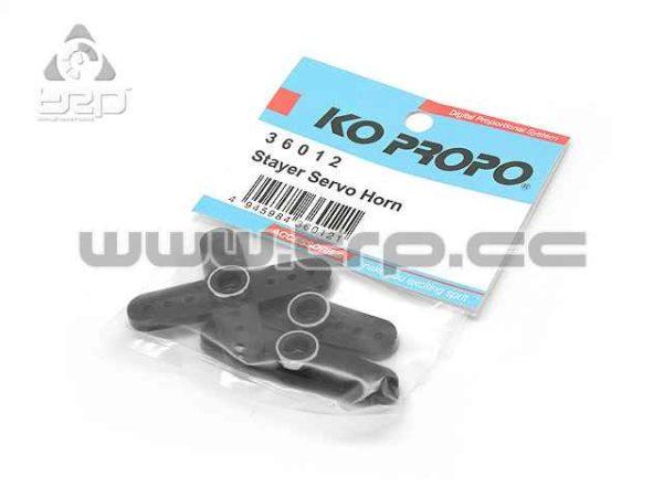 KO Propo Brazo de Servo Plastico/Metal Negro